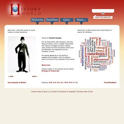 HistoryWorld - History and Timelines