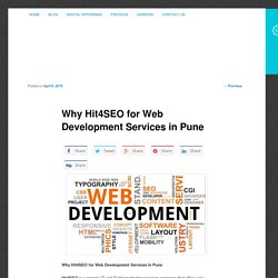 Why Hit4SEO for Web Development Services in Pune