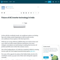 Future of AC inverter technology in India