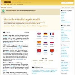 Main Page - Hitchwiki: the Hitchhiker's guide to Hitchhiking