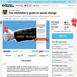the hitchhiker presents The hitchhiker's guide to social change