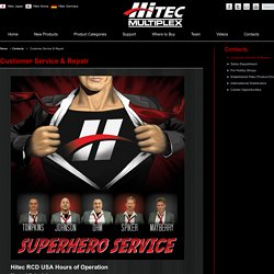 HITEC RCD USA