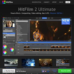 HitFilm: All-in-one video editing, visual effects and 3D compositing for indie filmmakers - FXhome