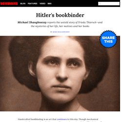 Hitler's bookbinder