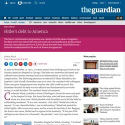 Hitler's debt to America