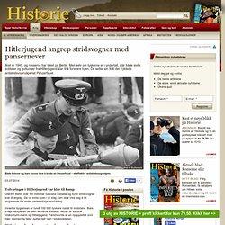 Hitlerjugend angrep stridsvogner med pansernever