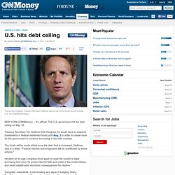U.S. hits debt ceiling: Why it matters - May. 16