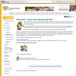 Hitta Vilse – för säkrare barn och föräldrar