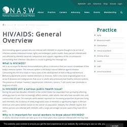HIV/AIDS: General Overview