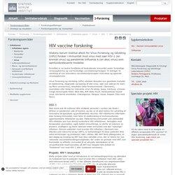 HIV vaccine forskning - Statens Serum Institut