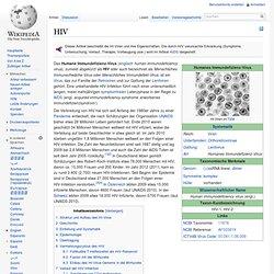 Humanes Immundefizienz-Virus / HIV
