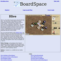 Hive at Boardspace.net