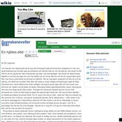 En hjältes död - Svenskanoveller Wiki - Wikia