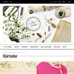 Hjärtaskar - DIY Sweden