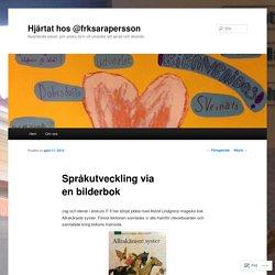 Språkutveckling via en bilderbok