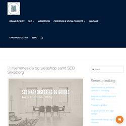 Hjemmeside og webshop samt SEO Silkeborg