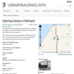 Hjørring Library in Metropol