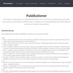 HK-rummet: Publikationer