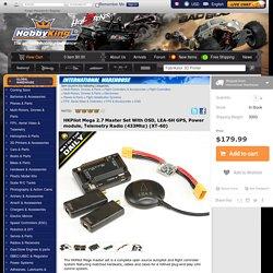 HKPilot Mega 2.7 Master Set With OSD, LEA-6H GPS, Power module, Telemetry Radio (433Mhz) (XT-60)