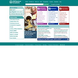 HM Revenue & Customs: Home Page