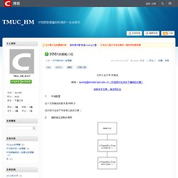 HM代码粗略介绍 - TMUC_HM