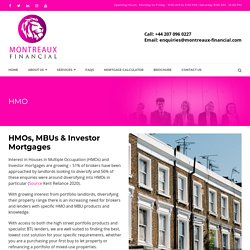 HMO Mortgages UK, Investors Mortgages In The UK