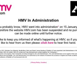 Buy Music CDs, DVDs, Games, Consoles, Blu Ray, MP3s & More - hmv.com - Free Delivery