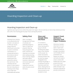 Hoarding Inspection and Clean-up