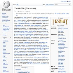 The Hobbit (film series)