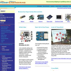 Hobby Engineering Home Page