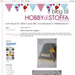 Hobby di stoffa by Hdc: Porta tisane da viaggio
