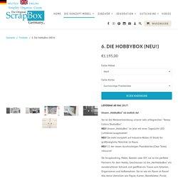 """Die """"HobbyBox"""" ist endlich da! - The Original ScrapBox Germany"""
