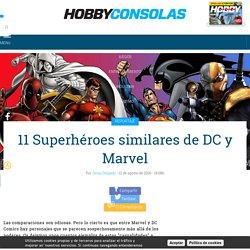 11 Superhéroes similares de DC y Marvel - HobbyConsolas Entretenimiento