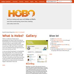 Hobo - the web application builder for Rails