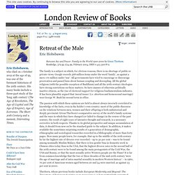 Eric Hobsbawm reviews 'Between Sex and Power' by Göran Therborn · LRB 4 August 2005
