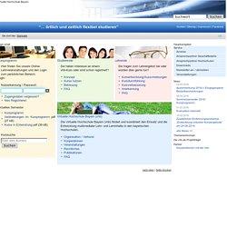 Virtuelle Hochschule Bayern: Startseite
