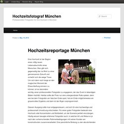 Hochzeitsreportage München