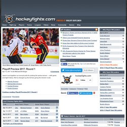 Hockey Fights at hockeyfights.com