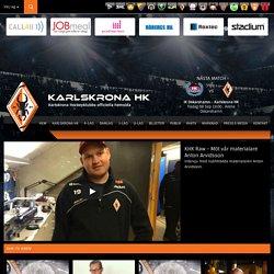 Karlskrona Hockeyklubbs Officiella hemsida