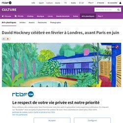David Hockney (1937-) Jardin. 2015 . Dessin numérique sur téléphone