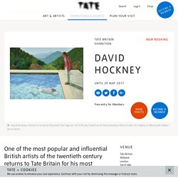 David Hockney - Exhibition at Tate Britain