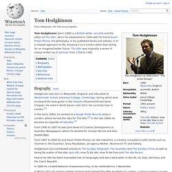Tom Hodgkinson