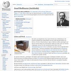 Josef Hoffmann (Architekt)