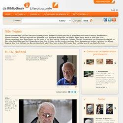 H.J.A. Hofland boeken, biografie en informatie