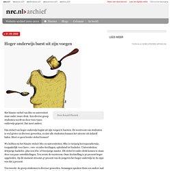 01-09-2009 Hoger onderwijs barst uit zijn voegen - Plasterk