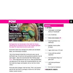 Hogeschool: 'Blote borsten niet in schap'