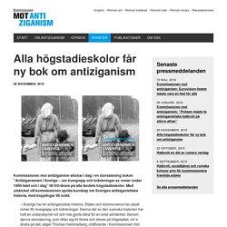 Alla högstadieskolor får ny bok om antiziganism - Kommissionen mot Antiziganism