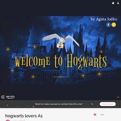 hogwarts lovers A1 by agata116 on Genially