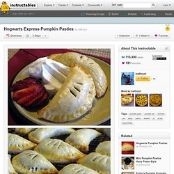 Hogwarts Express Pumpkin Pasties