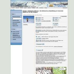 Hohneck (1363 m) : Du Hohneck au Kastelberg en traversée depuis le Col des Feignes